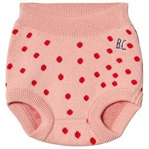Bobo Choses Dots Knit Bloomers Autumn Leaf 12-18 Months