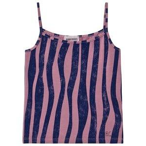 Image of Bobo Choses Groovy Stripes Tank Top Heather Rose 10-11 Years
