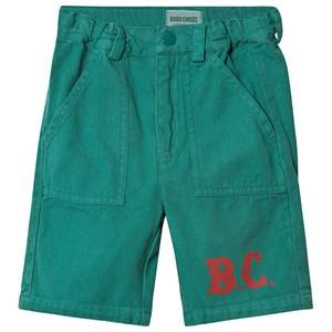 Bobo Choses B.C. Bermuda Shorts Cadmium Green 2-3 Years