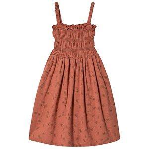 Bobo Choses Daisy Smocked Dress Autumn Leaf 8-9 Years
