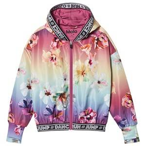 Molo Ophelia Jacket Hibiscus Rainbow 116/122 cm