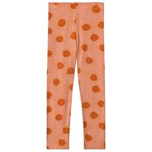 Image of Soft Gallery Paula Leggings Sunshine Peach Bloom 3 years