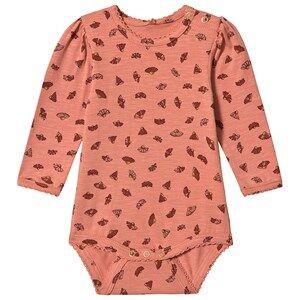 Image of Soft Gallery Ellen Baby Body Tawny Orange 6 months