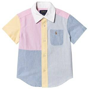 Ralph Lauren Color Block Fun Shirt Multicolor M (10-12 years)