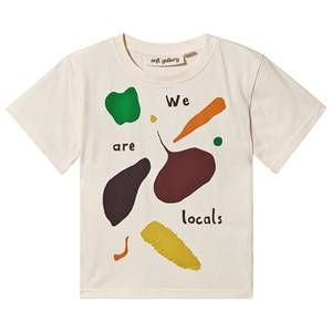Image of Soft Gallery Asger T-Shirt Vegetables Gardenia 7 years