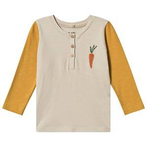 Image of Soft Gallery Fieldy Shirt Carrot Oyster Gray 12 months