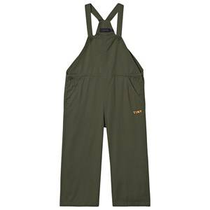Tinycottons Tiny Overalls Olive Dark Green 2 Years