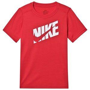 Image of NIKE Logo Running Tee Red XL (13-15 years)