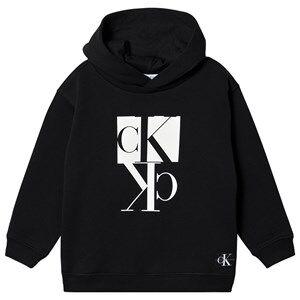 Image of Calvin Klein Jeans Mirror Monogram Hoodie Black 4 years