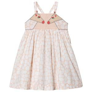 Stella McCartney Kids Giraffe Print Dress Pale Pink 3 years