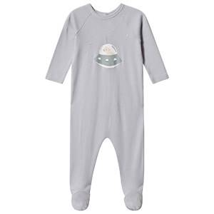 Bonpoint Space Polar Bear Footed Baby Body Pale Blue 12 months