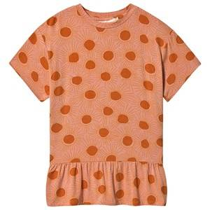 Image of Soft Gallery Elodie Dress Peach Bloom 12 years