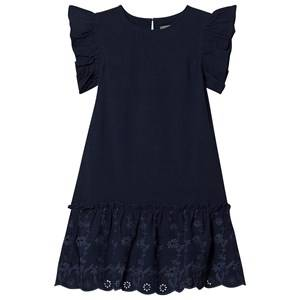 Creamie Embroidery Dress Total Eclipse 116 cm (5-6 Years)
