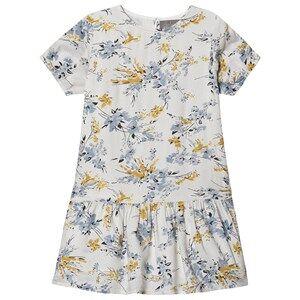 Creamie Dobby Flower Dress Cloud 110 cm (4-5 Years)