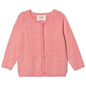 Creamie Pointelle Cardigan Pink Icing 110 cm (4-5 Years)