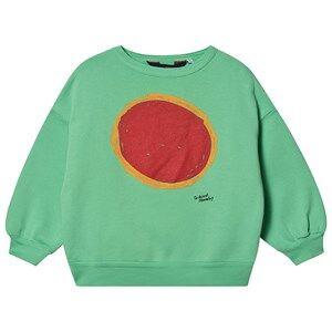 The Animals Observatory Big Bear Sweatshirt Green Sun 4 Years