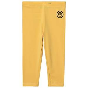 Image of The Animals Observatory Swimmer Alligator Leggings Yellow Logo 3 Years