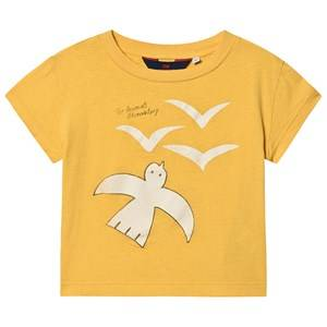 The Animals Observatory Rooster T-Shirt Yellow Birds 2 Years