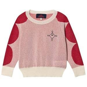 The Animals Observatory Dots Bull Sweater Raw White Logo 6 Years