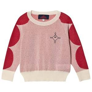 The Animals Observatory Dots Bull Sweater Raw White Logo 2 Years
