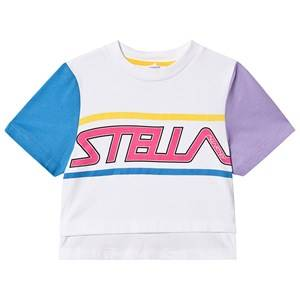 Stella McCartney Kids Logo Sport Tee White 10 years