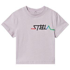Stella McCartney Kids Logo Tee Lilac 10 years