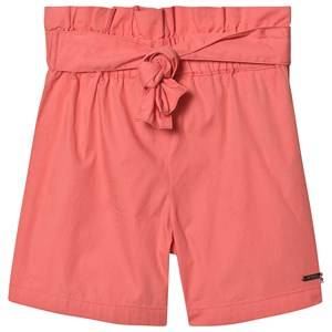 Guess Tie Waist Shorts Coral 6 years