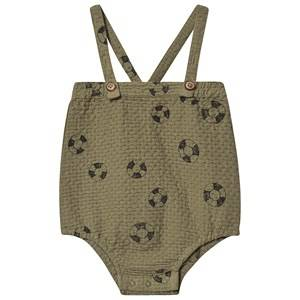 Sproet & Sprout Rubber Ring Romper Khaki 50-56 (0-3 months)