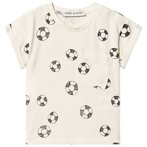 Sproet & Sprout Rubber Ring Tee Cream 92-98 (2-3 years)