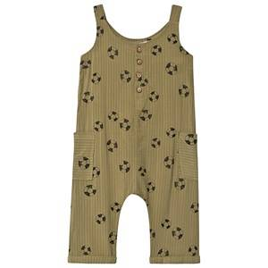 Sproet & Sprout Rubber Ring Jumpsuit Khaki 92-98 (2-3 years)