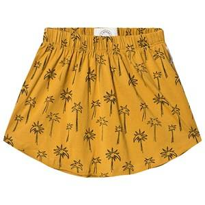 Sproet & Sprout Palm Tree Jersey Skirt Mustard 98-104 (3-4 years)