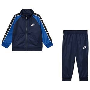 NIKE Logo Track Suit Midnight Navy 2-3 years