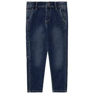 IKKS Denim Tapered Jeans Medium Blue 12 years