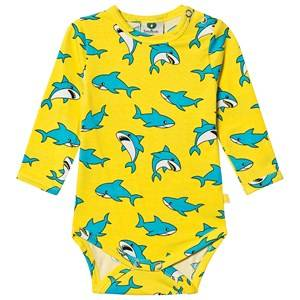 Image of Smfolk Shark Baby Body Yellow 80 cm (9-12 Months)