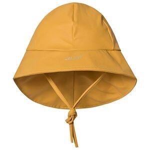 Celavi Rain Hat Solid Mineral Yellow