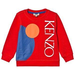 Kenzo Dragon Celebration Sweatshirt Red 5 years