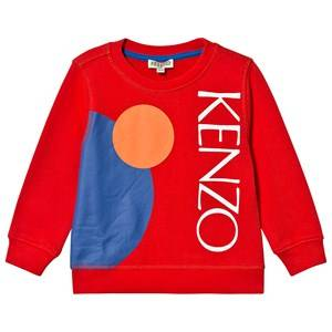 Kenzo Dragon Celebration Sweatshirt Red 12 years