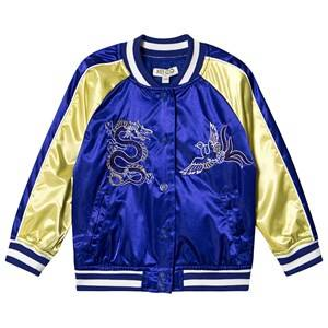 Kenzo Dragon Celebration Bomber Jacket Cobalt 8 years