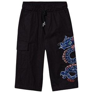 Kenzo Dragon Celebration Pants Black 2 years