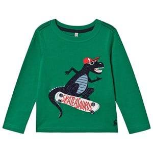Tom Joule Skater Dino Tee Green 1 year