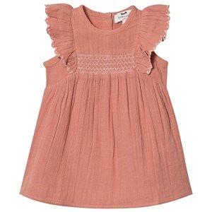 Image of Cyrillus Embroidered Estefania Dress Blush 9 months