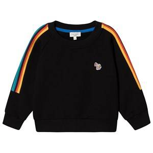 Paul Smith Junior Tape Zebra Sweatshirt Black 3 years