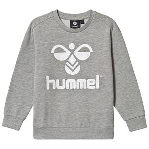 Image of Hummel Dos Sweatshirt Grey Melange 116 cm (5-6 Years)