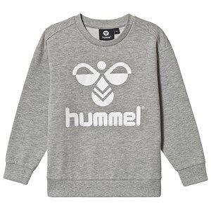 Hummel Dos Sweatshirt Grey Melange 128 cm (7-8 Years)