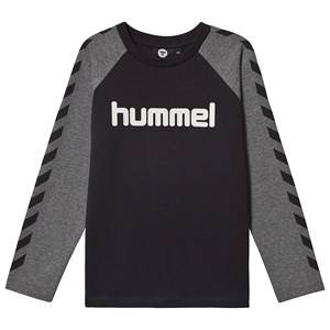 Image of Hummel Long Sleeved Tee Black 116 cm (5-6 Years)