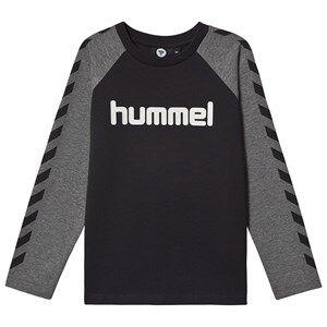 Image of Hummel Long Sleeved Tee Black 122 cm (6-7 Years)