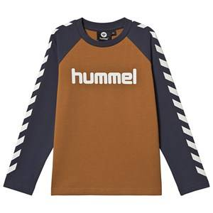 Image of Hummel Long Sleeved Tee Cathay Spice 122 cm (6-7 Years)