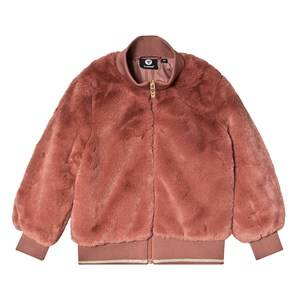 Image of Hummel Bianca Faux Fur Jacket Cedar Wood 128 cm (7-8 Years)