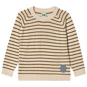 FUB Sweatshirt Ecru/Sienna 110 cm (4-5 Years)