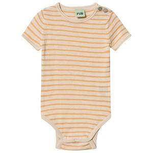 Image of FUB Baby Body Ecru/Yellow 68 cm (4-6 Months)